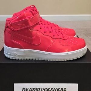 """Nike Air Force 1 Mid '07 LV8 UV """"Siren Red"""""""